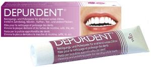 Trắng bóng răng và lấy cao răng bằng kem đánh răng Depurdent®